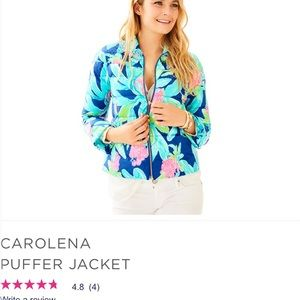 Lilly Pulitzer Carolena jacket xl